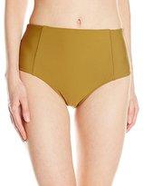 Volcom Women's Simply Solid Retro Bikini Bottom