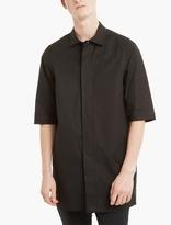 Rick Owens Black Cotton Overshirt