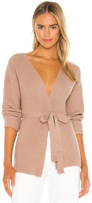 L'Academie Kori Wrap Sweater