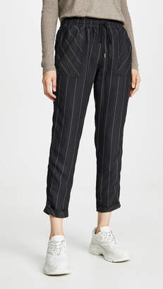 David Lerner Kennedy Cuffed Tappered Joggers