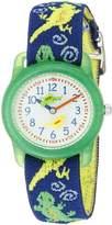 Timex Boys T72881 Time Machines Elastic Fabric Strap Watch