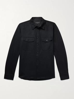 Rag & Bone Jack Wool Shirt Jacket - Men - Gray