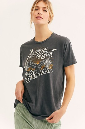 Free People Country Roads Tee by Midnight Rider at