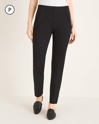 So Slimming Petite Juliet Side-Vent Ankle Pants