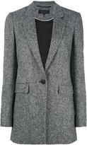Rag & Bone single-button blazer - women - Cupro/Virgin Wool/Spandex/Elastane - 2
