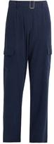 Equipment Manon silk cargo trousers