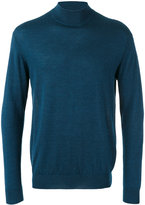 N.Peal fine gauge mock turtle neck jumper - men - Silk/Cashmere - XS