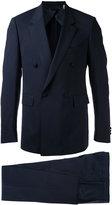 Cerruti double-breasted suit - men - Spandex/Elastane/Lambs Wool - 46