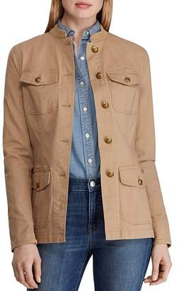 Ralph Lauren Cotton Stretch Military Jacket
