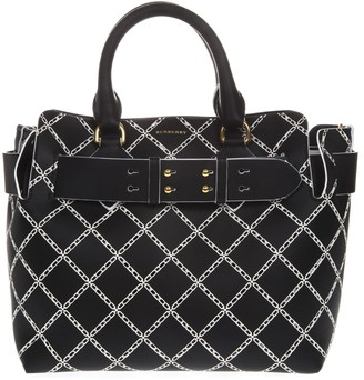 Burberry Small Black Leather Shoulder Bag