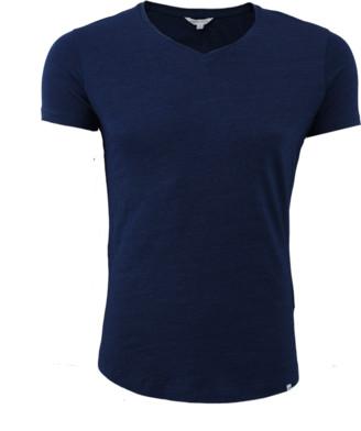 Orlebar Brown OB-V Denim Tailored Fit V-neck T-Shirt