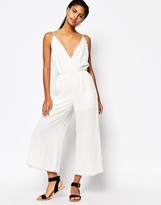 Moon River Raw Edged Jumpsuit