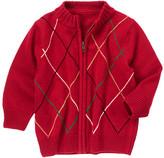 Gymboree Argyle Sweater Cardigan