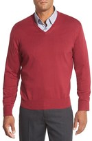 Robert Talbott Men's 'Toyon' V-Neck Sweater