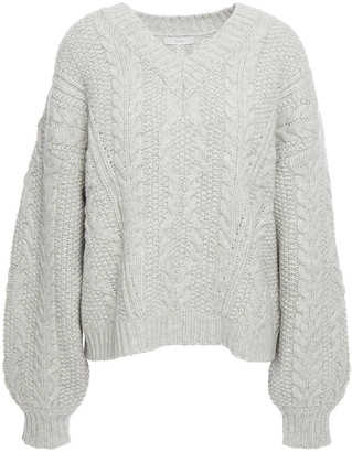 Joie Vinita Cable-knit Wool-blend Sweater