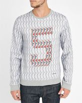 Carven Multi-Coloured Round-Neck Sweatshirt MENLOOK 5-YEAR EXCLUSIVE