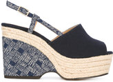 Castaner espadrille wedge sandals - women - Leather/rubber - 37