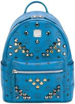 MCM Stark backpack - unisex - Leather/Metal (Other) - One Size