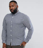 ONLY & SONS PLUS Slim Fit Gingham Shirt