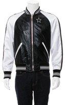 Givenchy 2017 Leather Bomber Jacket