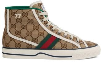 Gucci Women's Tennis 1977 High-Top Sneakers