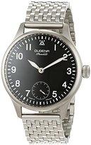 Dugena Men's Watch Epsilon 5 'Aviator Analogue Hand Winding Stainless Steel 7090059