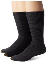 Gold Toe Men's Fluffies Sock, 3 Pack Extended