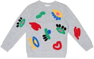 Stella McCartney Graphic Face cotton sweatshirt