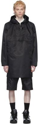 Alyx Black Oversized Pullover Coat
