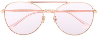 Jimmy Choo Eyewear Abbie aviator sunglasses