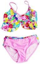 Aivtalk Kids Girls Tankini Bikini 2 Pieces Swimwear Swimming Bathing Suit