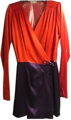 ATTICO Multicolour Silk Dresses