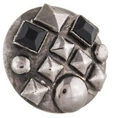 Erickson Beamon Embellished Stud Disc Ring