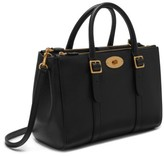 Mulberry Small Bayswater Double Zip Leather Satchel - Black