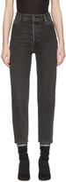 Vetements Black Levi's Edition Classic High Waist Jeans