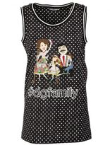Dolce & Gabbana Polka Dot Tank Top