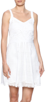 Yoana Baraschi Daytona Grid Frock Dress