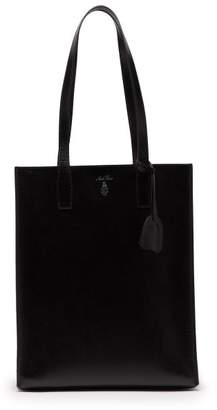 Mark Cross Fitzgerald Palmellato Leather Tote Bag - Mens - Black