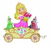 """Precious Moments Precious Moments, Disney Showcase Collection, Birthday Gifts, """"Now You're Three, A Beauty You'll Always And Forever Be"""", Disney Birthday Parade, Age 3, Resin Figurine, #104405"""