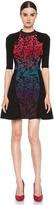 M Missoni Brocade Intarsia Dress in Purple