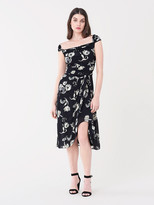 Diane von Furstenberg Fannie Jersey Midi Dress