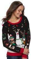 "It's Our Time Juniors' Fa La La"" Ugly Christmas Sweater"