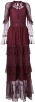 Just Cavalli lace all over dress - women - Polyester - 40