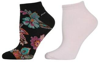 Natori Pop Floral Socks - 2 Pair Pack