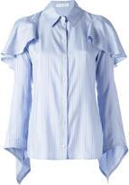 J.W.Anderson cascade blouse - women - Silk - 8