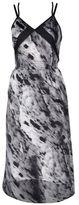 Blanc Noir 3/4 length dress