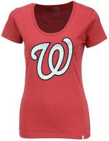 '47 Women's Washington Nationals Satin Scoop T-Shirt