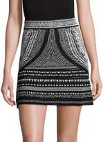 Roberto Cavalli Women's Printed Mini Skirt