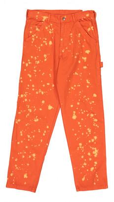 Stan Ray Orange Cotton Trousers