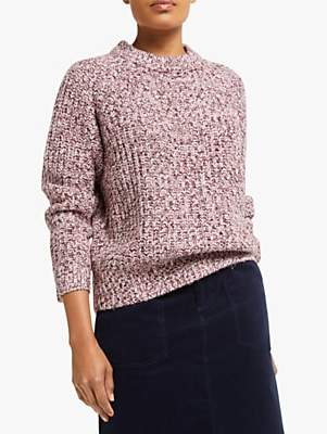 Collection WEEKEND by John Lewis Raglan Sleeve Chunky Jumper